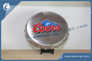 Plastic Bar Top Coors Crown Top Bottle Opener