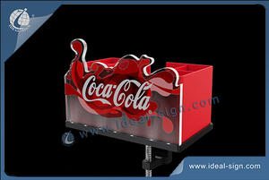 Coca Cola Bar Top Bottle Opener Avec Affichage Barre De Caddy