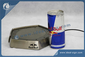 Red Bull Brand Magnetic Levitation Bottle Display Adjustable Brightness