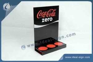 Personalized acrylic lighted bottle displays Led Bottle Glorifier for wholesale