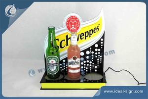 Schweppes LED Bottle Display Pour La Marque Promotion