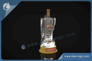Acrylique LED SMIRNOFF Bouteille Glorifier / Bouteille Display Shelf