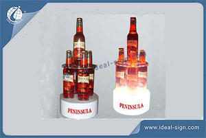 Peninsula Bar Regale LED-Alkohol-Acryl-Flaschen-Halter