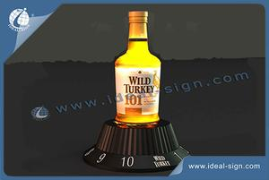 Amerika-Art-Wild Turkey Marke LED-Flasche Glorifier