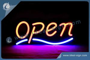 Cadre Rectangle Open Face LED Faux Neon Signs / Indoor Neon Signs