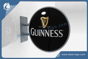 Round Carlsberg Vacuum Formed Light Box Exterior Wall Mounted Sign