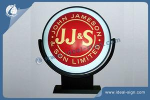 Supplier for Budweiser Rotating Pub Signs and Illuminated Bar Signs