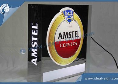 lighted beer signs