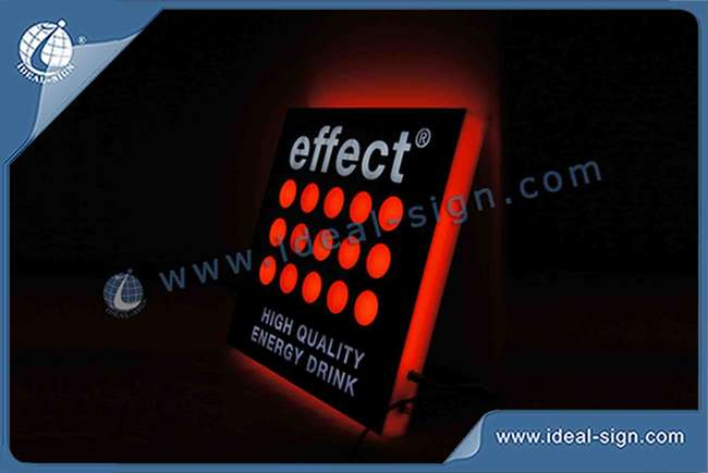 China manufacturing of light up indoor bar signs custom