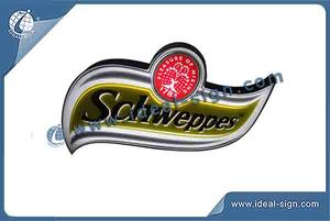 Schweppes Flashing Indoor LED Signs For Display Advertising