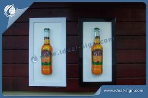 Desperado Farbwechsel Mood Indoor LED Schilder / Acryl-LED-Light Box