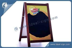 China manufacturing for wood framed chalkboard A Frame Signs wholesale