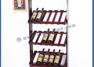 bottle display rack