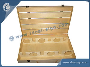 Paulownia Netural Wine Wooden Box