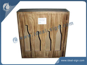 Évidé Wine Wooden Box