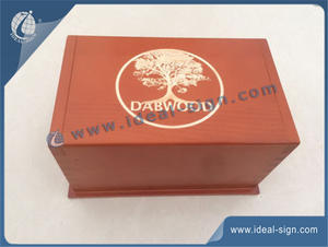 Classical Handmade Pine Wood Wine Gift Packing Boxes Used For Decoration And Promotion