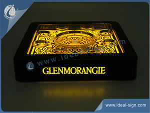 China supplier of  LED serving tray with custom design, size and shape