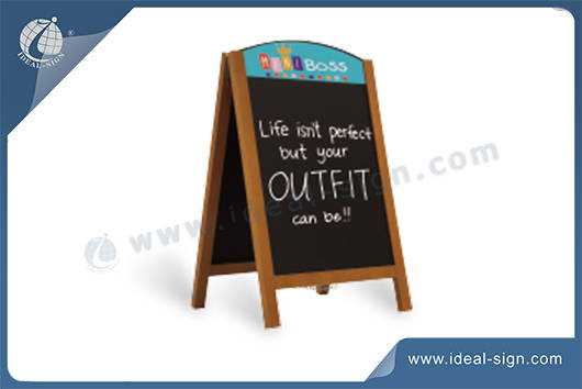 A-frame Sidewalk Advertising Board