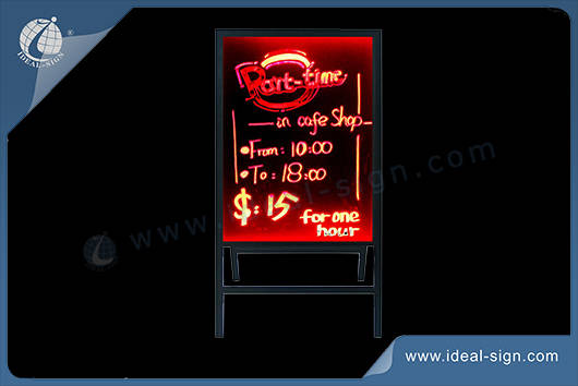 Outdoor led Schreibtafel