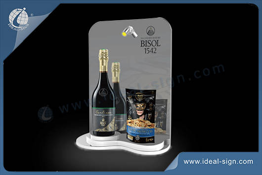 Acryl Flasche display