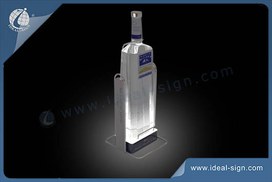 exhibidores de botellas LED iluminado