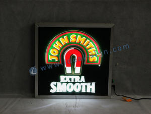 John Smith Indoor Led Signs / A Frame Panneaux Publicitaires OEM