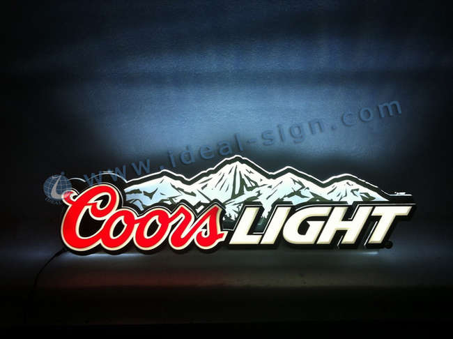 wholesale custom bar signs for decoration indoor led lighted sign