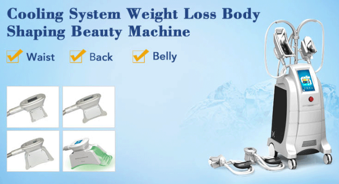 Laser fat freezing slimming beauty machine features