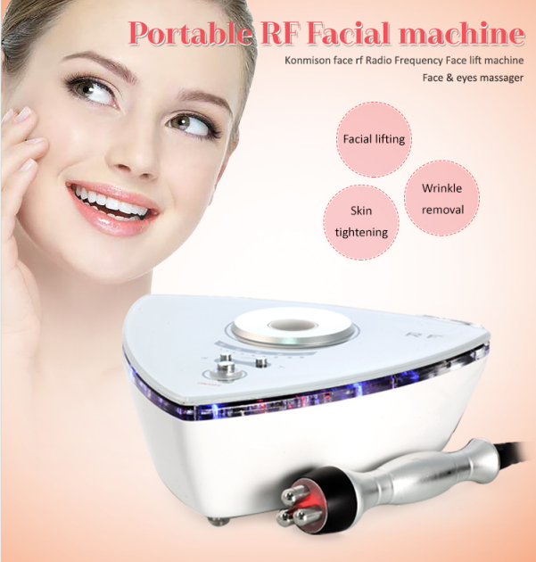 Portable RF face lifting beauty device home use features