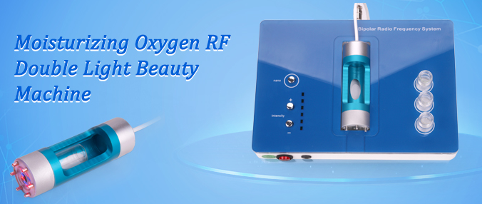 Portable RF face lifting beauty machine