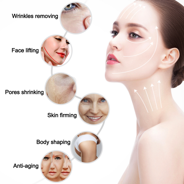 3D Hifu beauty machine for Face Lifting and Body Shaping  functions