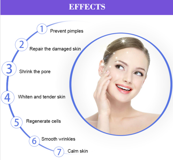 Skin lightening treatment Device effects
