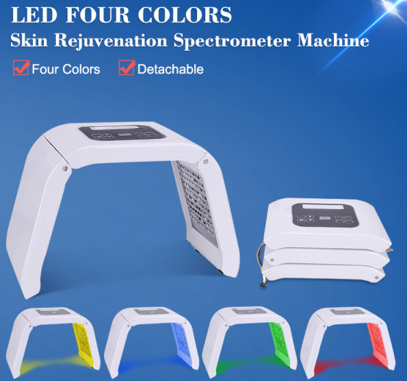 LED light beauty machine features