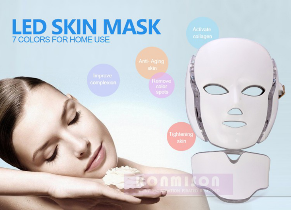 LED therapy facial mask features