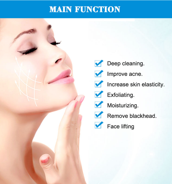 skin deep cleaning Oxygen  small bubble dermabrasion machine functions