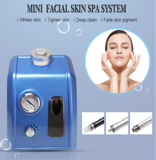 Mini Facial Hydra Dermabrasion Machine features