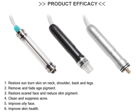 Mini Facial Hydra Dermabrasion Machine  efficacy