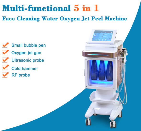 skin deep cleaning Oxygen  small bubble dermabrasion machine