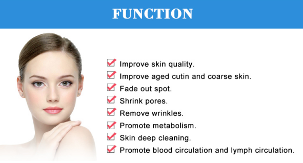 Diamond microdermabrasion machine functions