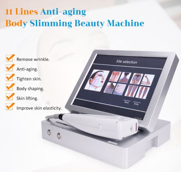 Anti-aging Body slimming HIFU Beauty Machine features
