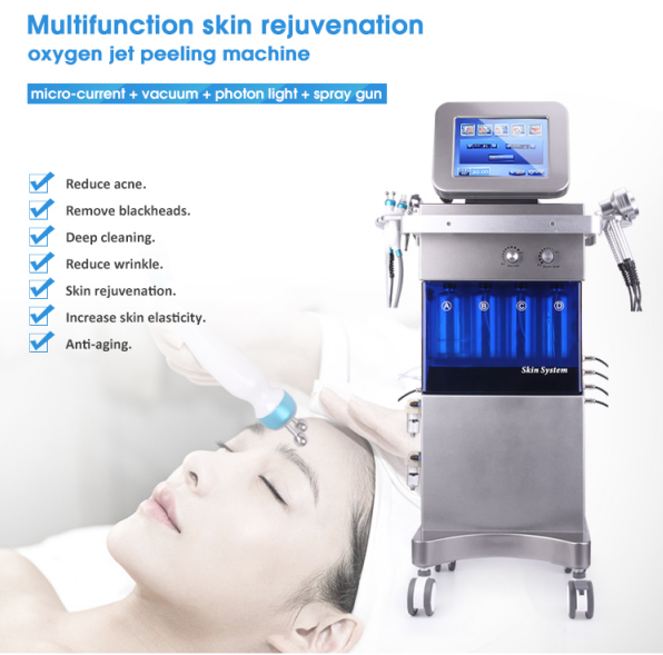 Multifunction small bubble dermabrasion machine features