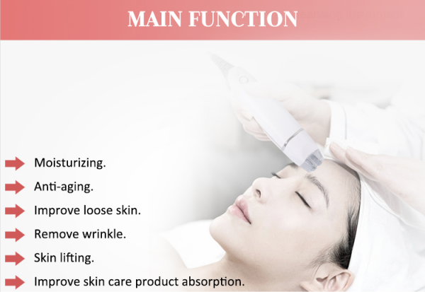 RF skin rejuvenation beauty machine functions