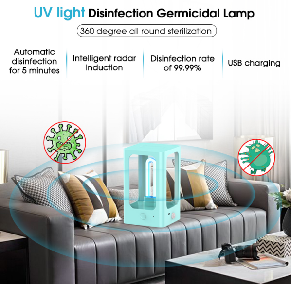 Disinfection UV Sterilizer Lamp features