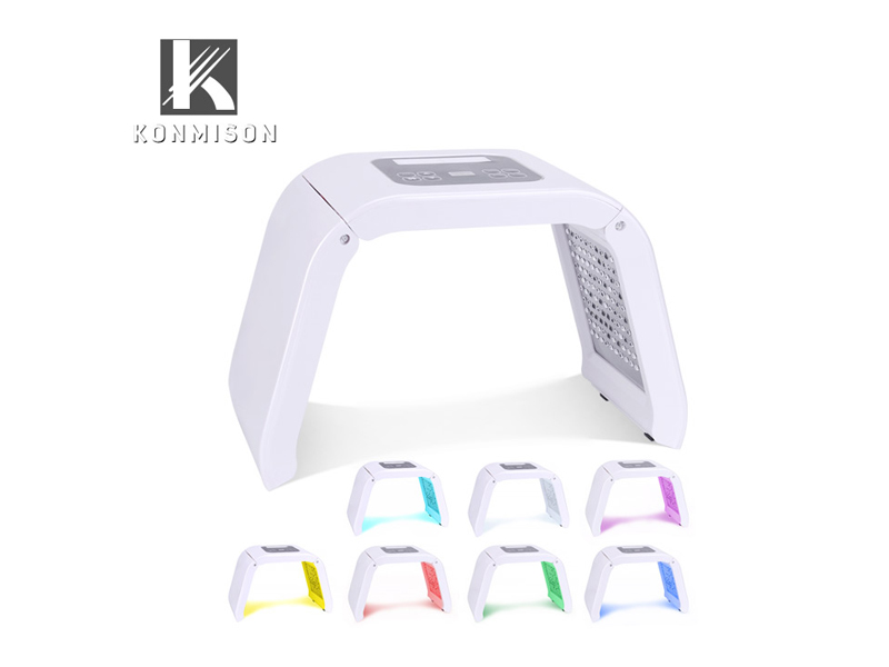 LB215D LED light therapy machine with seven colors