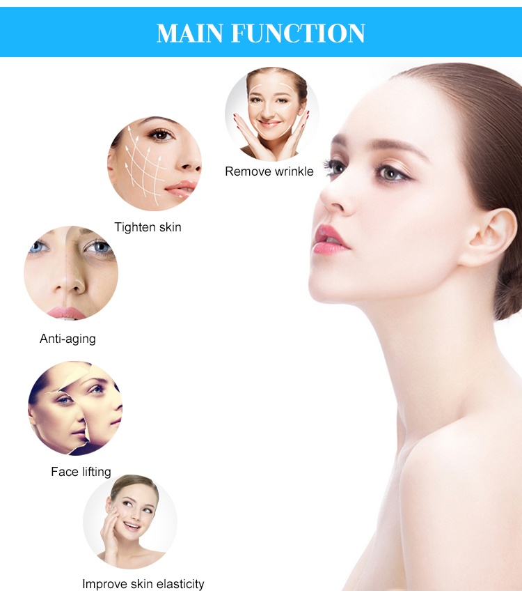 RF skin lifting beauty machine functions