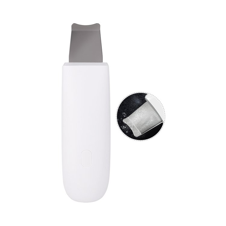 Portable ultrasonic skin scrubber