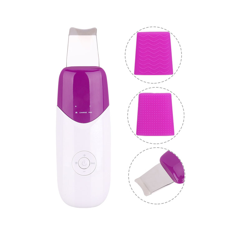 SC393 Portable ultrasonic skin deep cleaning face scrubber
