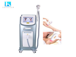 Konmison 808 Laser Hair Removal Machine for Hair Removal+Skin rejuvanation