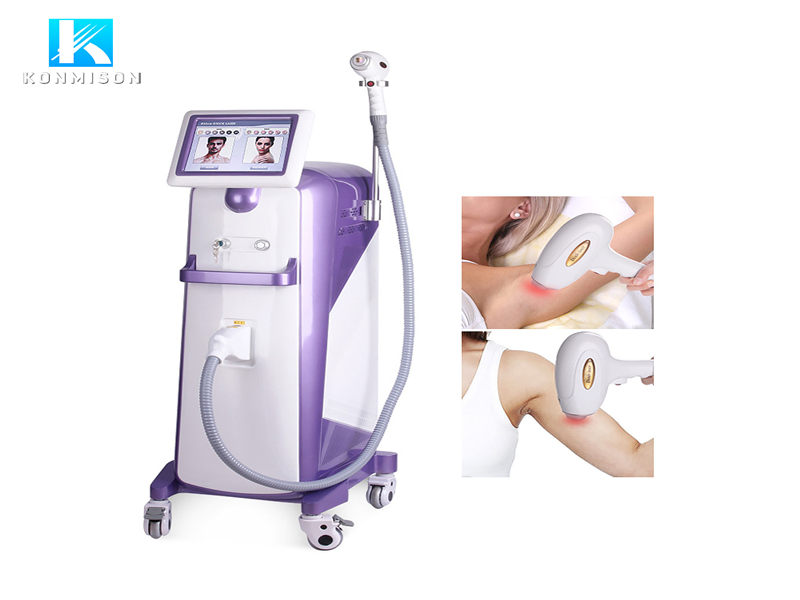 EN077 755/808/1064nm Laser Hair Removal Machine