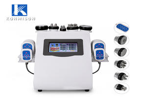 Konmison Portable 6 in 1 Lipolaser Cavitation Vacuum  RF Slimming Machine